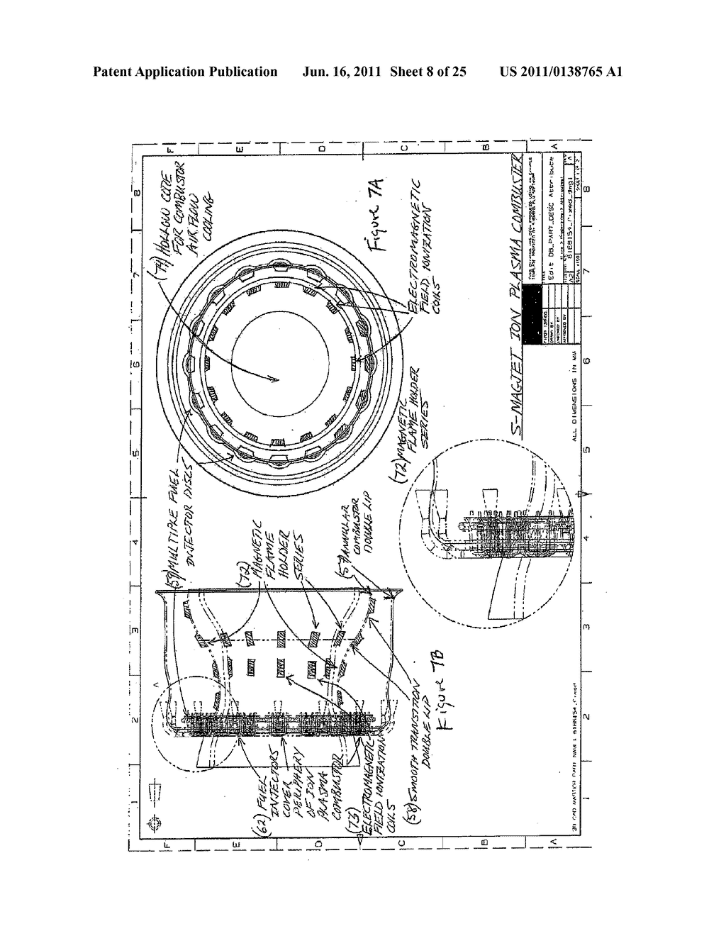 MAGNETIC ADVANCED GENERATION JET ELECTRIC TURBINE - diagram, schematic, and image 09