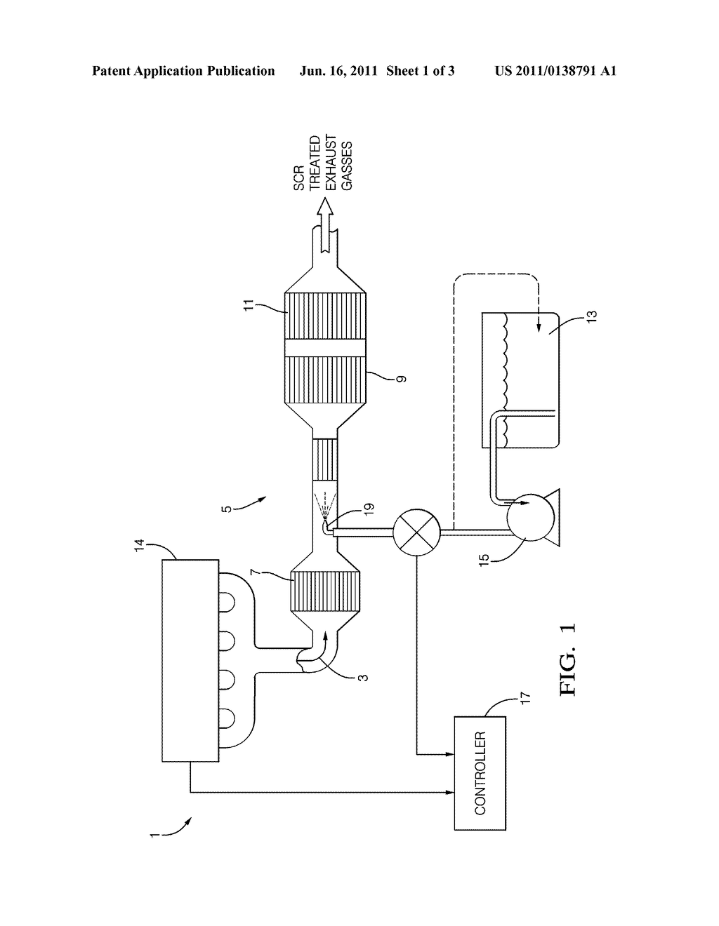 Liquid Reductant Dosing Module with Heating Device - diagram, schematic, and image 02