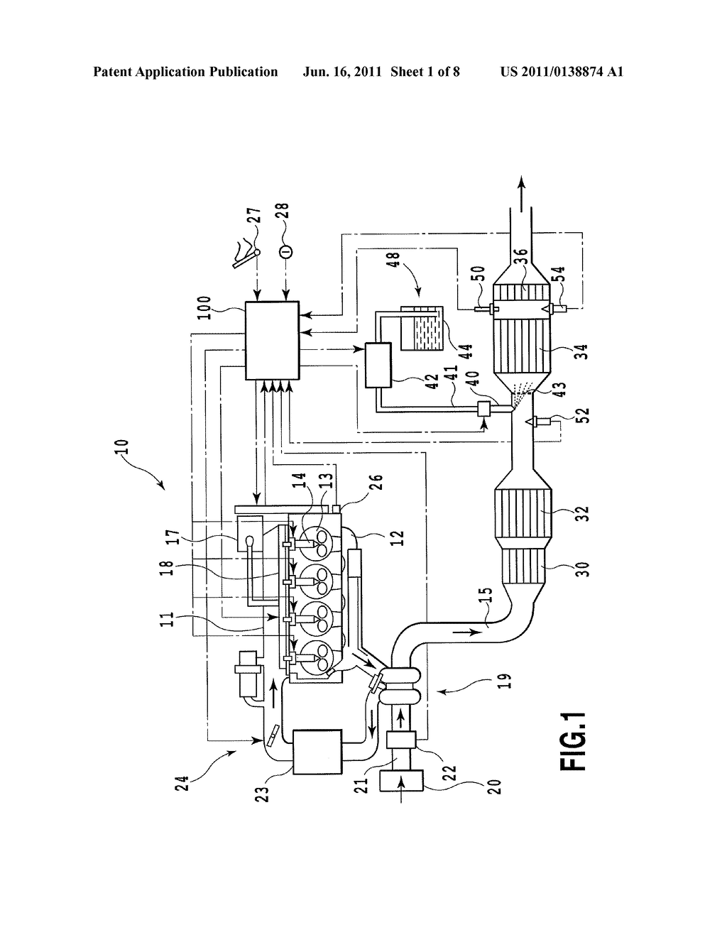 OUTPUT CALIBRATION APPARATUS AND OUTPUT CALIBRATION METHOD FOR NOx SENSOR - diagram, schematic, and image 02