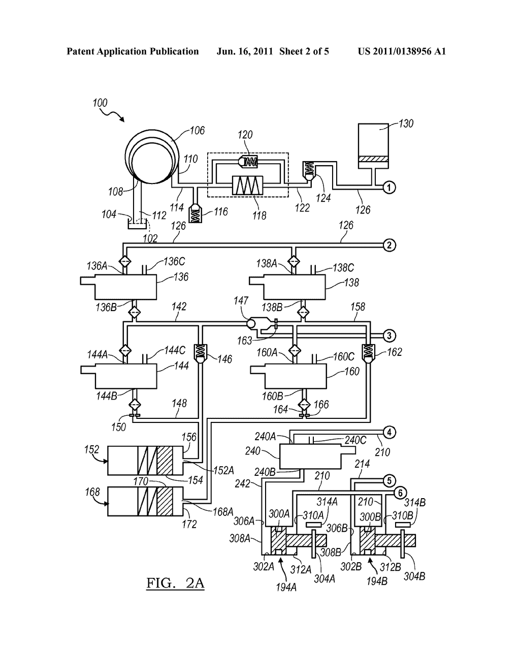 electro-hydraulic control system for a dual clutch transmission - diagram,  schematic, and image 03