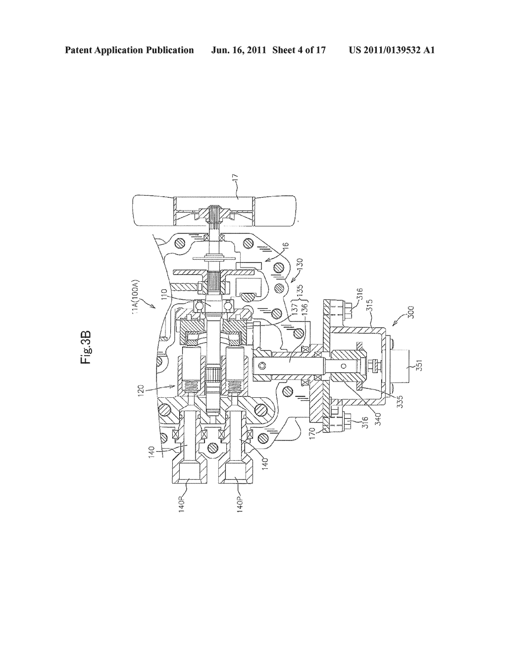 hydraulic motor unit and hydraulic four-wheel-drive working vehicle -  diagram, schematic, and image 05