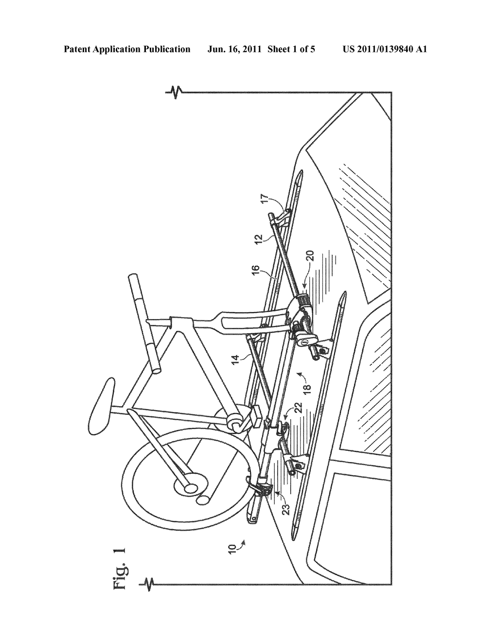 SKEWER ASSEMBLY FOR BICYCLE FORK MOUNT - diagram, schematic, and image 02