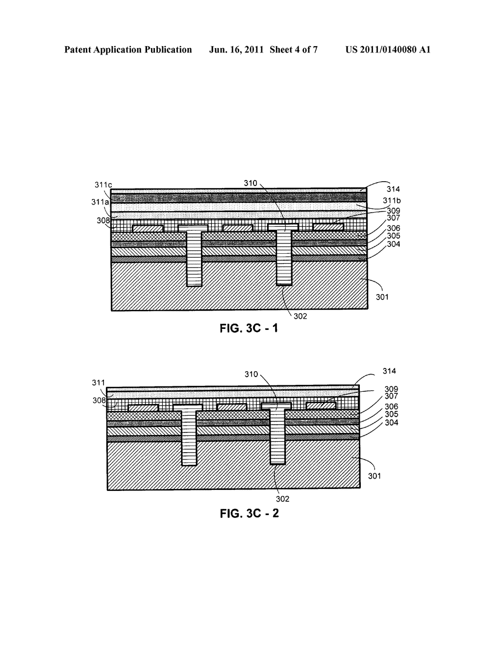 METHOD FOR FABRICATING InGaAIN LIGHT-EMITTING DIODES WITH A METAL     SUBSTRATE - diagram, schematic, and image 05