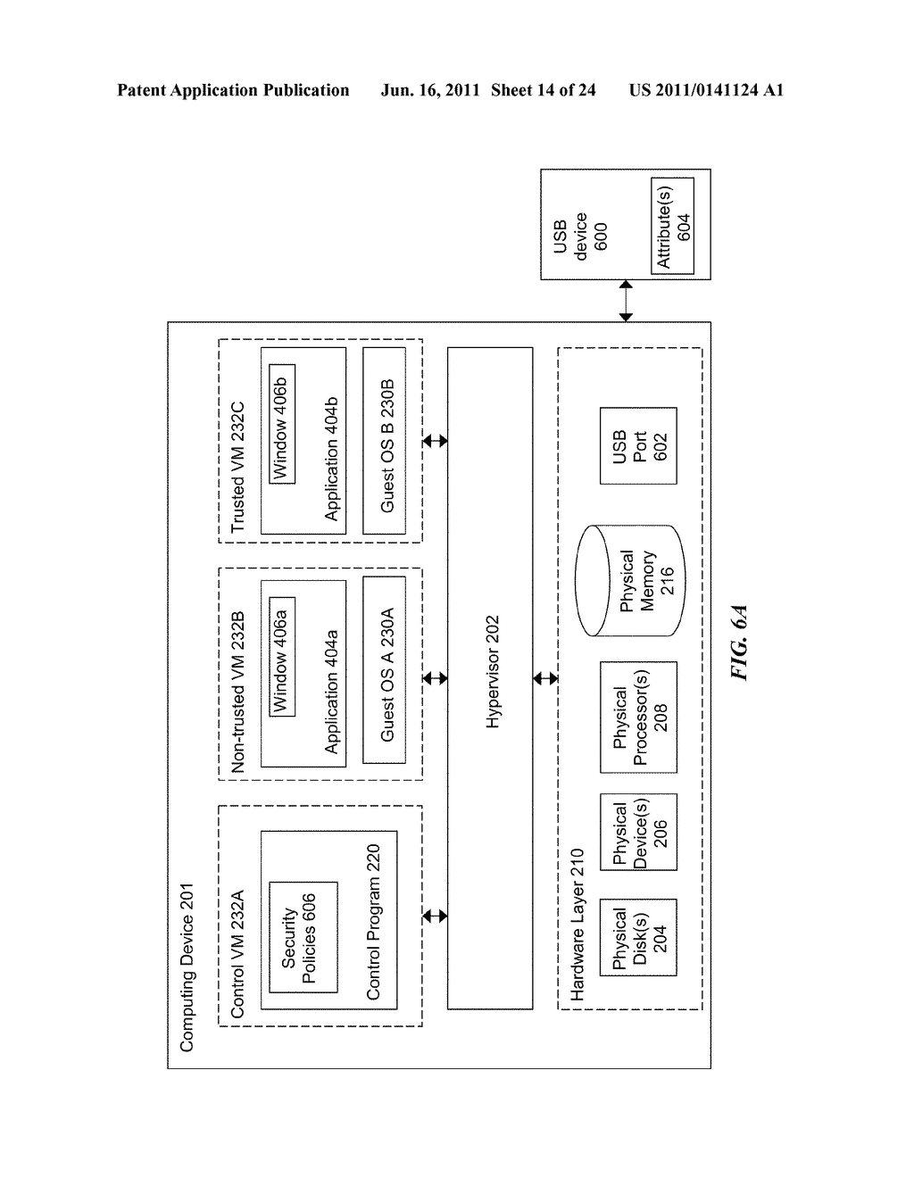 METHODS AND SYSTEMS FOR SECURING SENSITIVE INFORMATION USING A     HYPERVISOR-TRUSTED CLIENT - diagram, schematic, and image 15