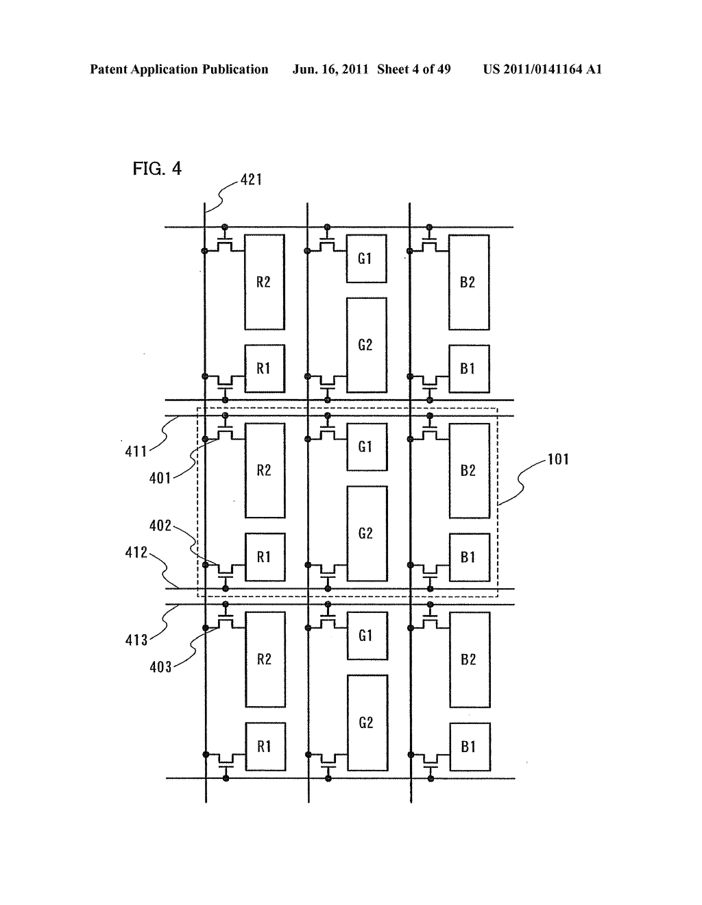 Display Device, Electronic Device and Method of Driving Display Device - diagram, schematic, and image 05
