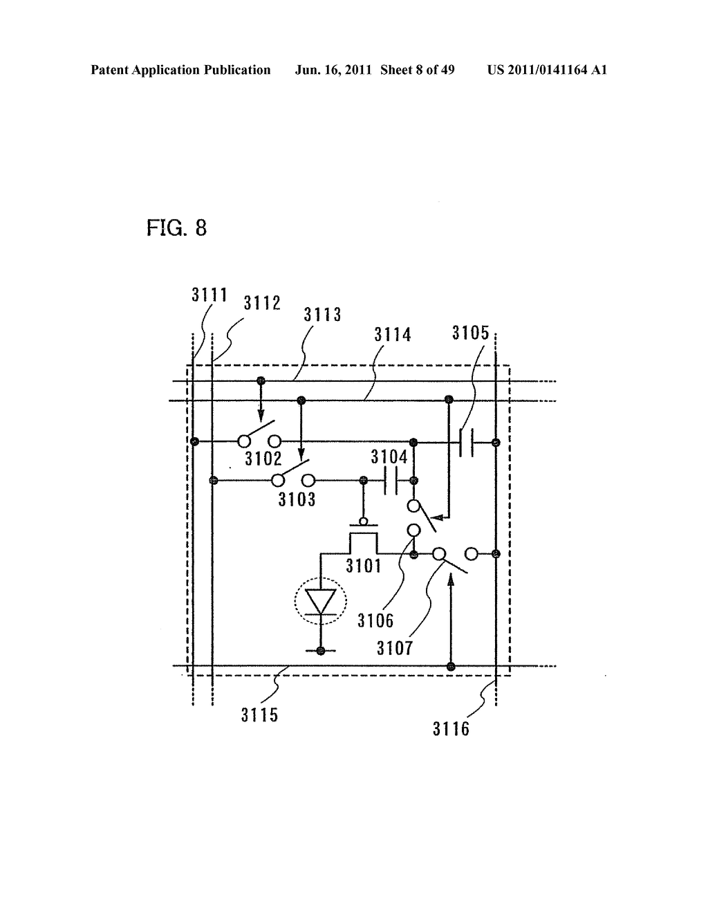 Display Device, Electronic Device and Method of Driving Display Device - diagram, schematic, and image 09