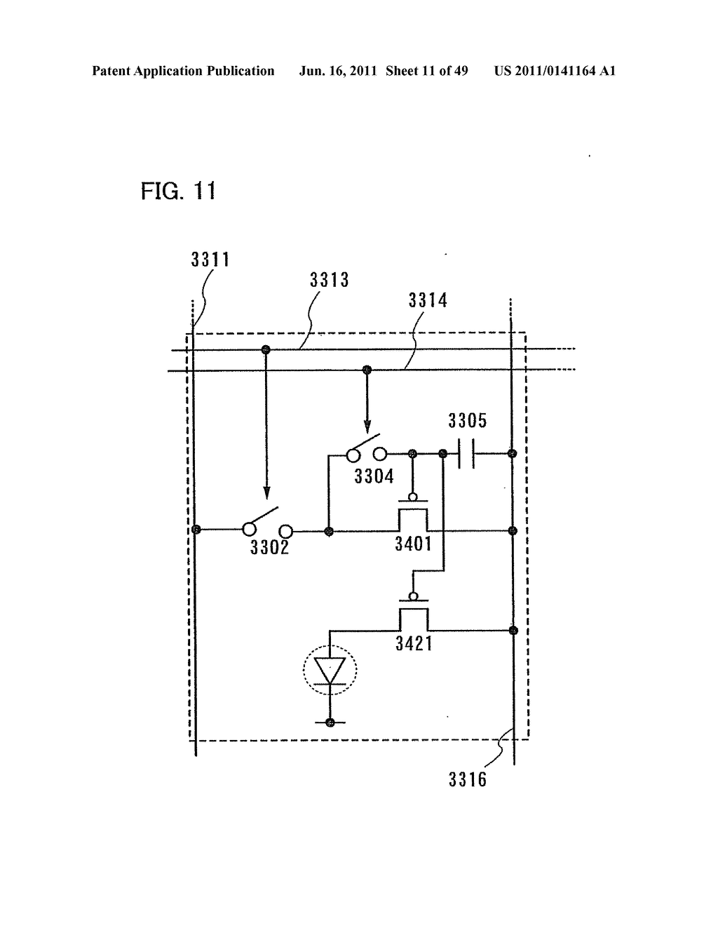 Display Device, Electronic Device and Method of Driving Display Device - diagram, schematic, and image 12