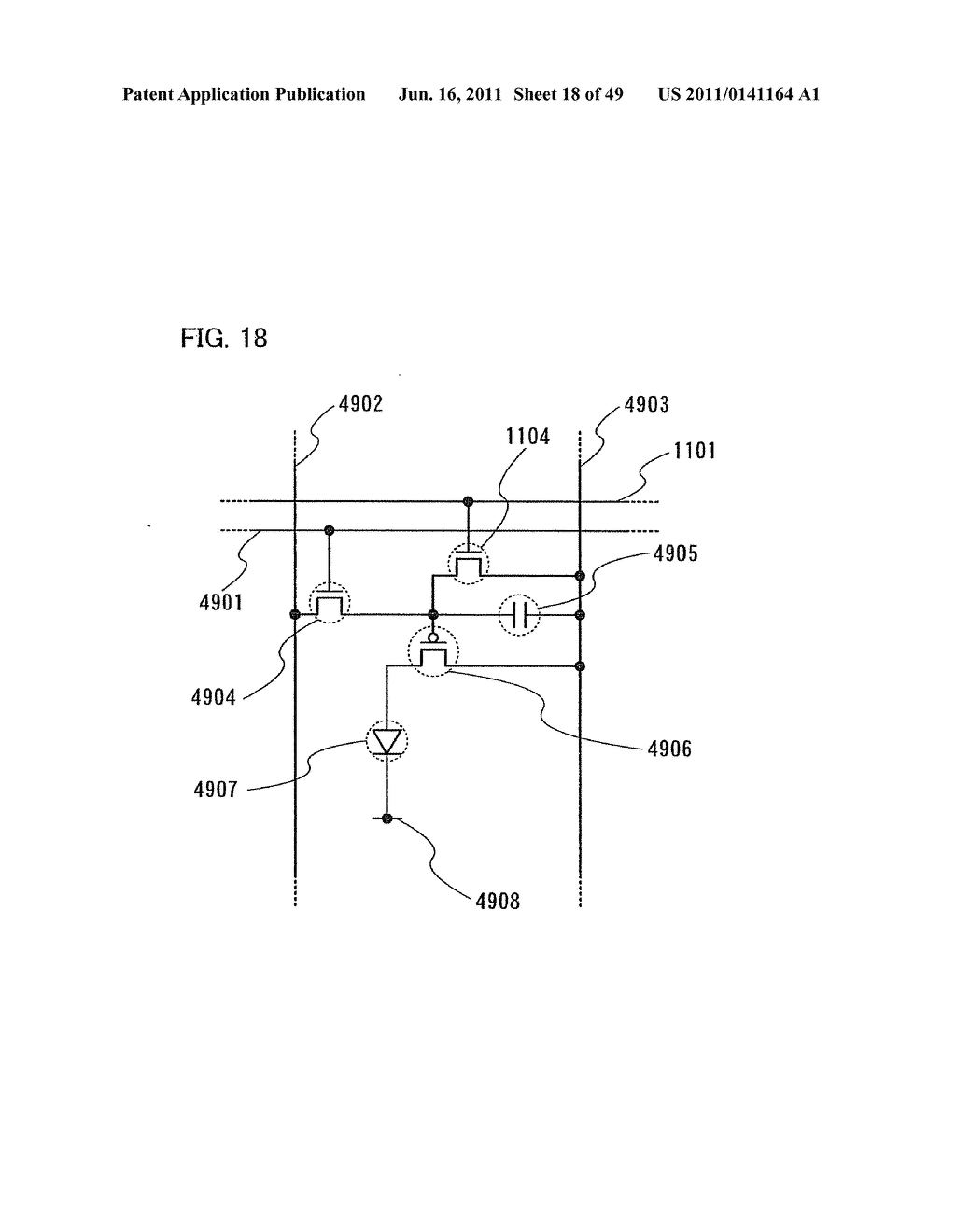 Display Device, Electronic Device and Method of Driving Display Device - diagram, schematic, and image 19