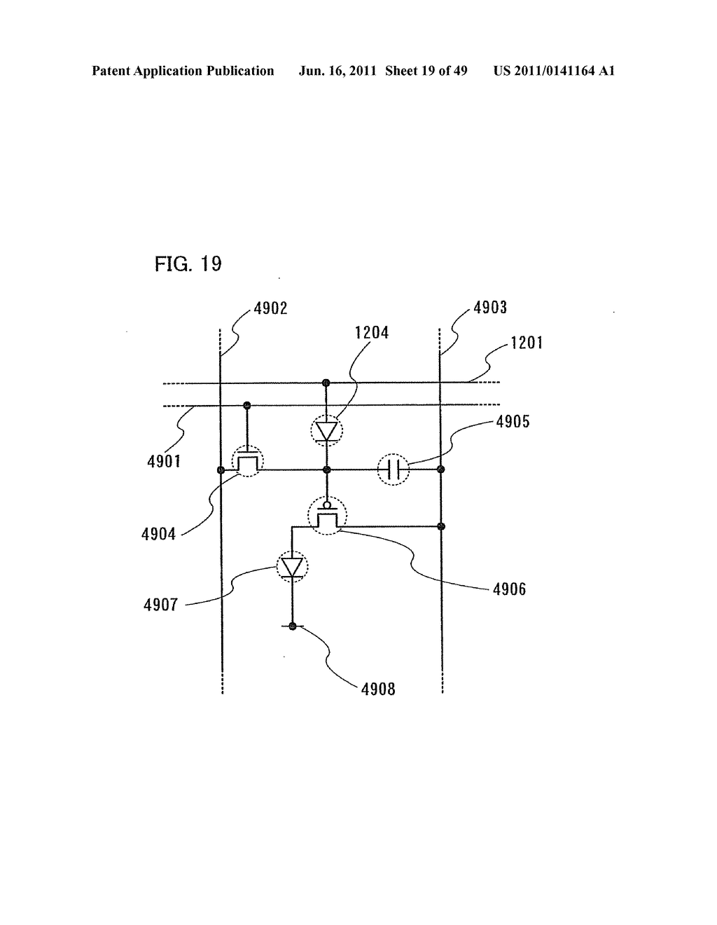 Display Device, Electronic Device and Method of Driving Display Device - diagram, schematic, and image 20
