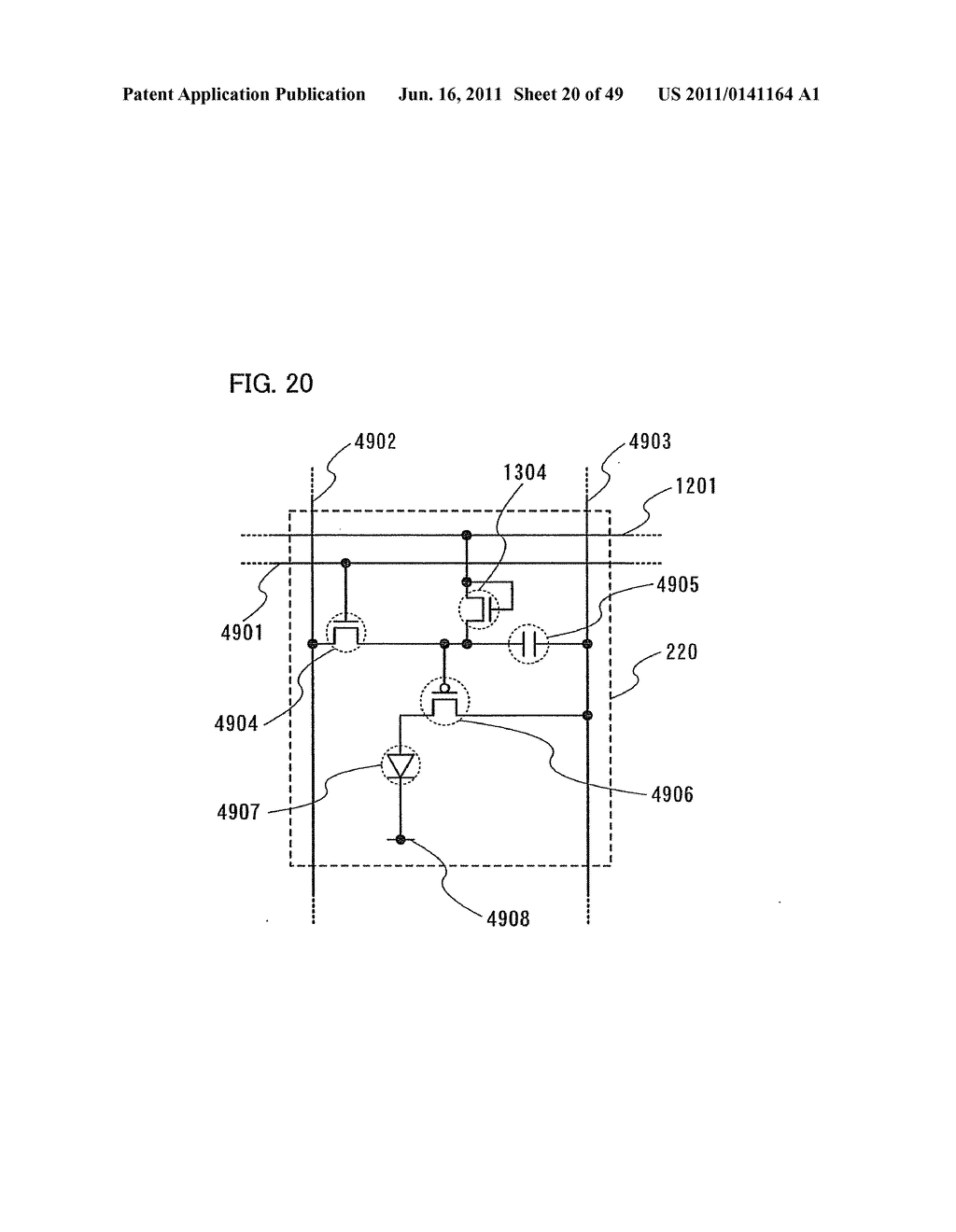 Display Device, Electronic Device and Method of Driving Display Device - diagram, schematic, and image 21