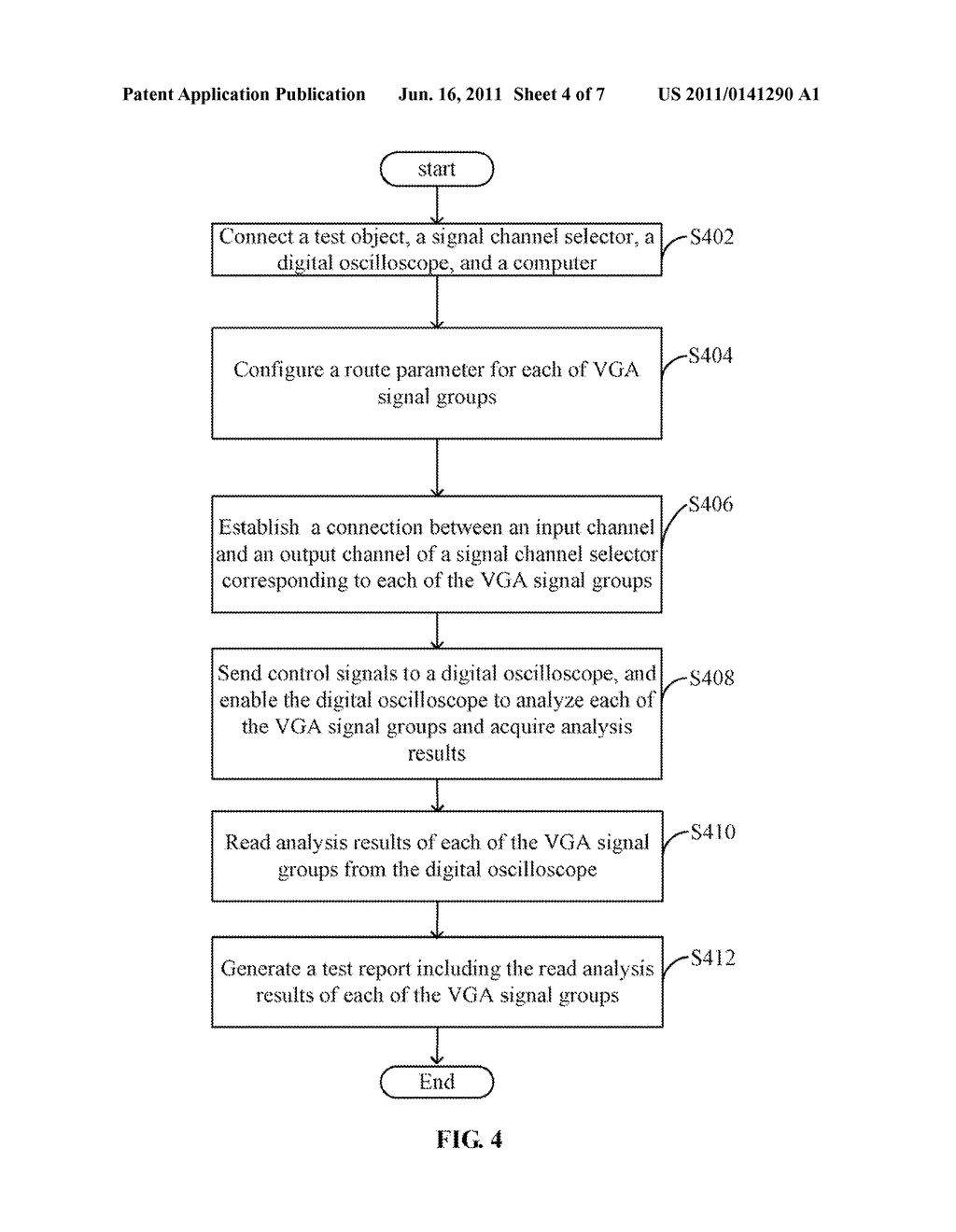 SYSTEM AND METHOD FOR TESTING VIDEO GRAPHICS ARRAY SIGNAL GROUPS - diagram, schematic, and image 05