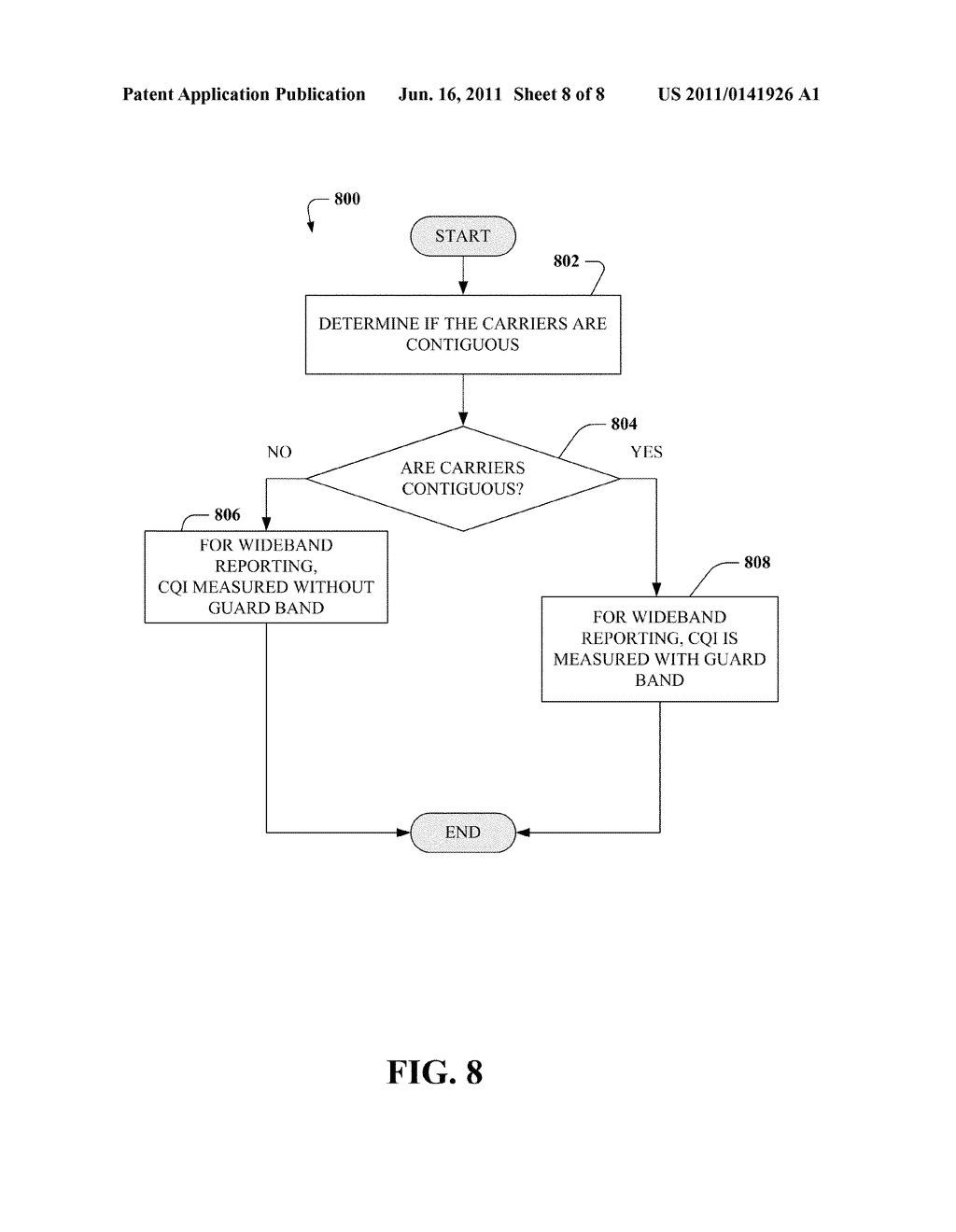 METHOD AND APPARATUS FOR DISPATCHING A CHANNEL QUALITY INDICATOR FEEDBACK     IN MULTICARRIER SYSTEM - diagram, schematic, and image 09