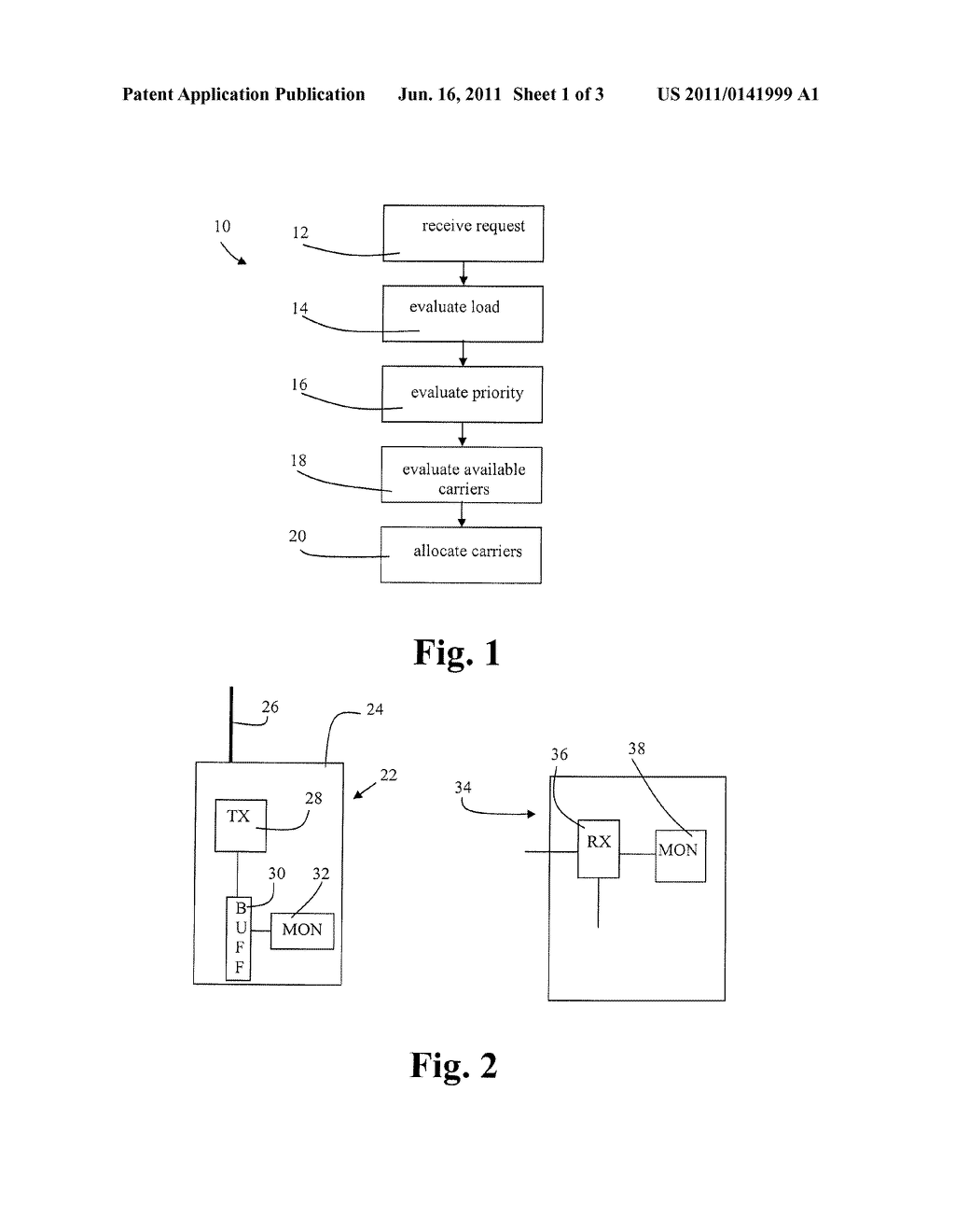 METHOD FOR ALLOCATING COMMUNICATION BANDWIDTH AND ASSOCIATED APPARATUSES - diagram, schematic, and image 02