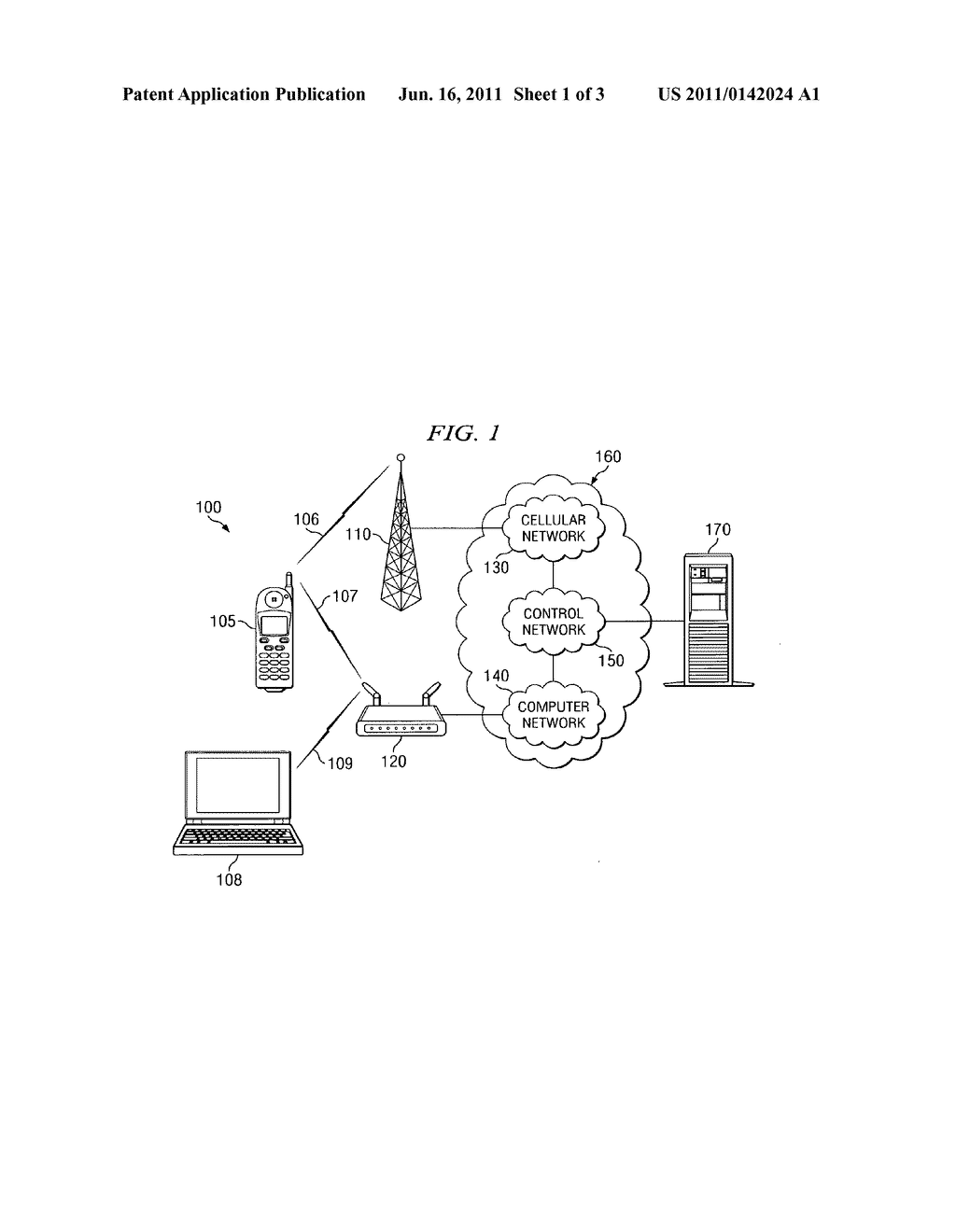 SYSTEM AND METHOD FOR ROUTING A WIRELESS CONNECTION IN A HYBRID NETWORK - diagram, schematic, and image 02