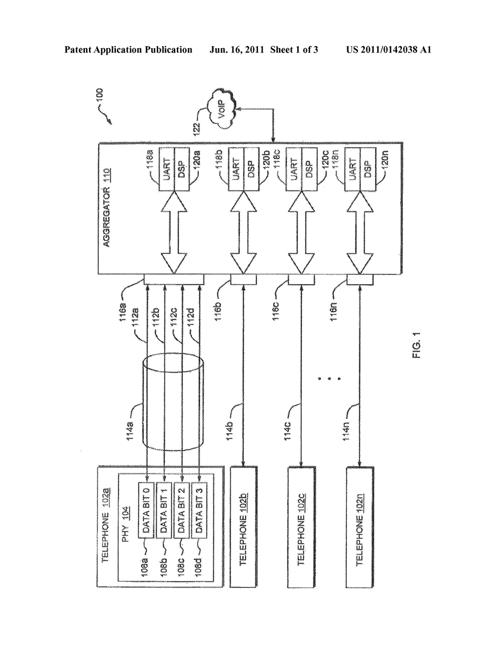 digital telephone data and control signal transmission system - diagram,  schematic, and image 02