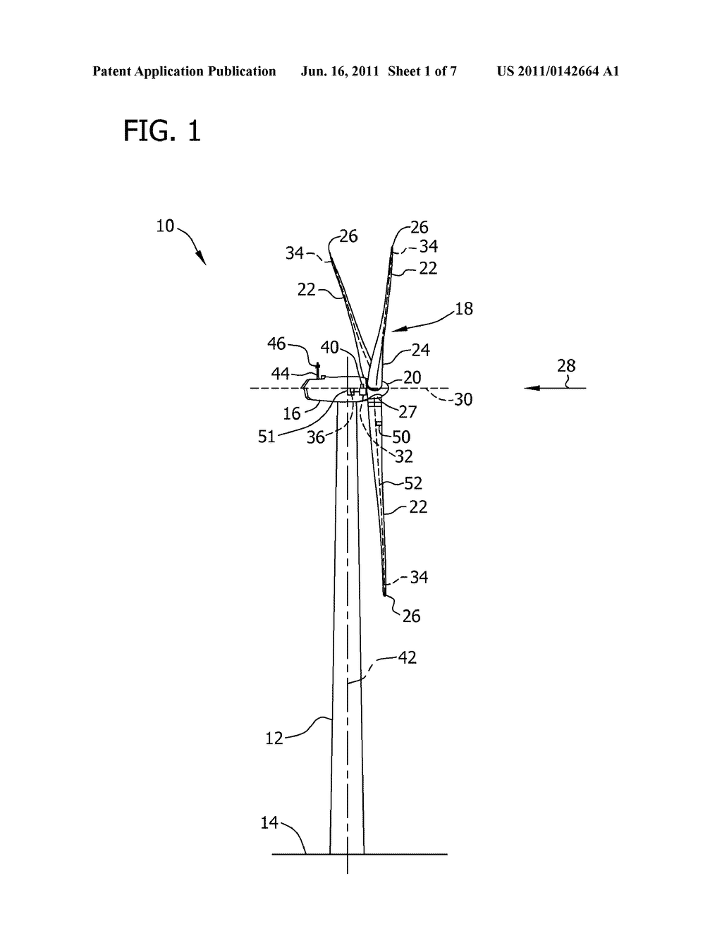 VORTEX GENERATOR ASSEMBLY FOR USE WITH A WIND TURBINE ROTOR BLADE
