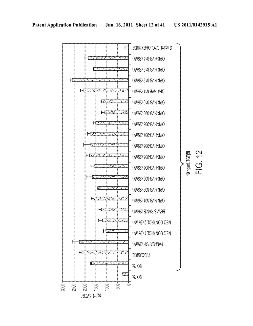 COMPOSITIONS AND METHODS FOR INHIBITION OF VEGF - diagram, schematic, and image 13
