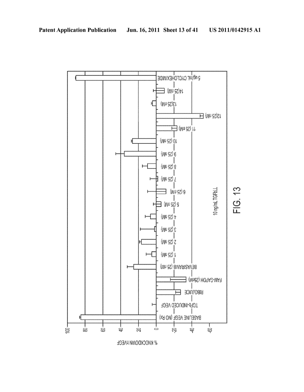 COMPOSITIONS AND METHODS FOR INHIBITION OF VEGF - diagram, schematic, and image 14