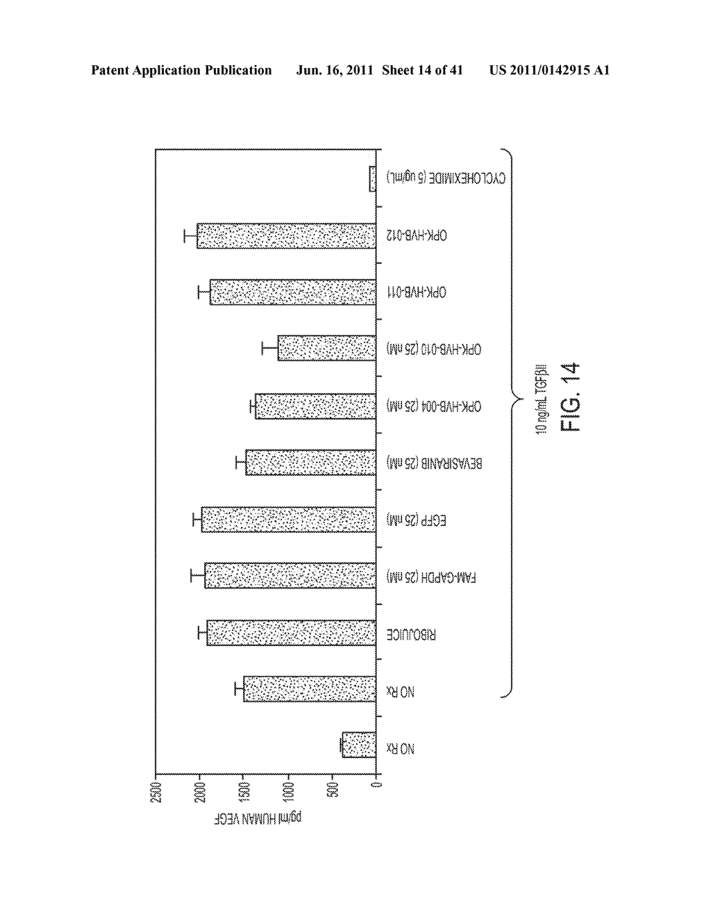COMPOSITIONS AND METHODS FOR INHIBITION OF VEGF - diagram, schematic, and image 15