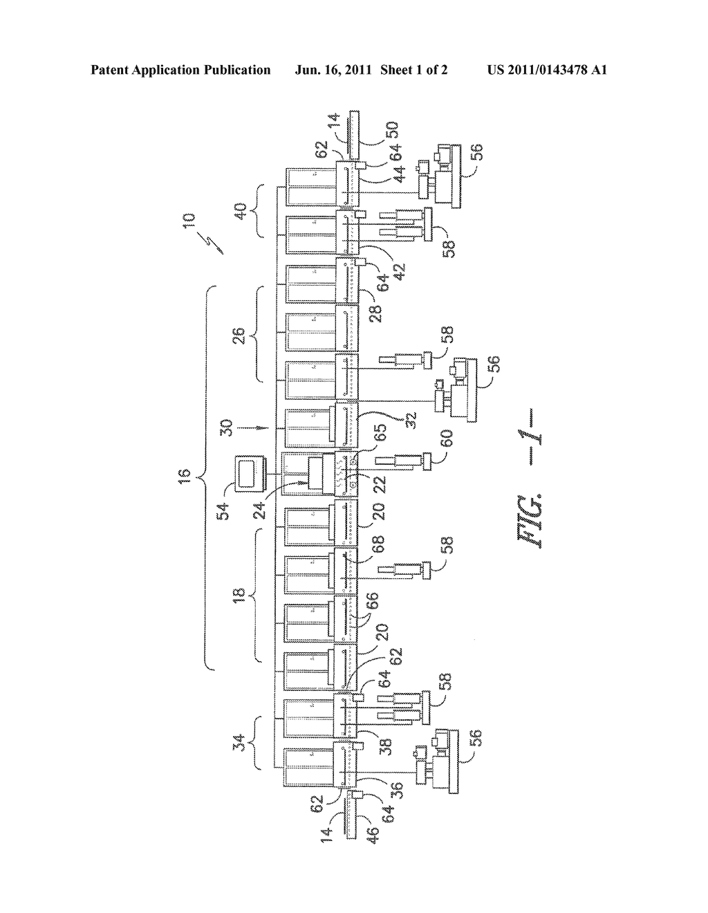 MODULAR SYSTEM AND PROCESS FOR CONTINUOUS DEPOSITION OF A THIN FILM LAYER     ON A SUBSTRATE - diagram, schematic, and image 02