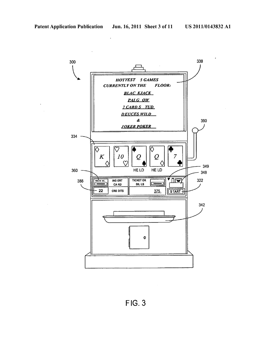 METHOD AND APPARATUS FOR USING CONDITIONAL PARAMETERS TO ALTERNATE BETWEEN     WAGERING GAMES - diagram, schematic, and image 04