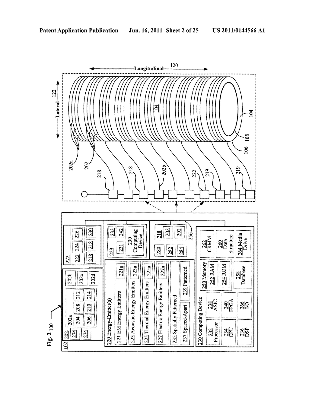 Systems, devices, and methods including catheters having an actively     controllable therapeutic agent delivery component - diagram, schematic, and image 04