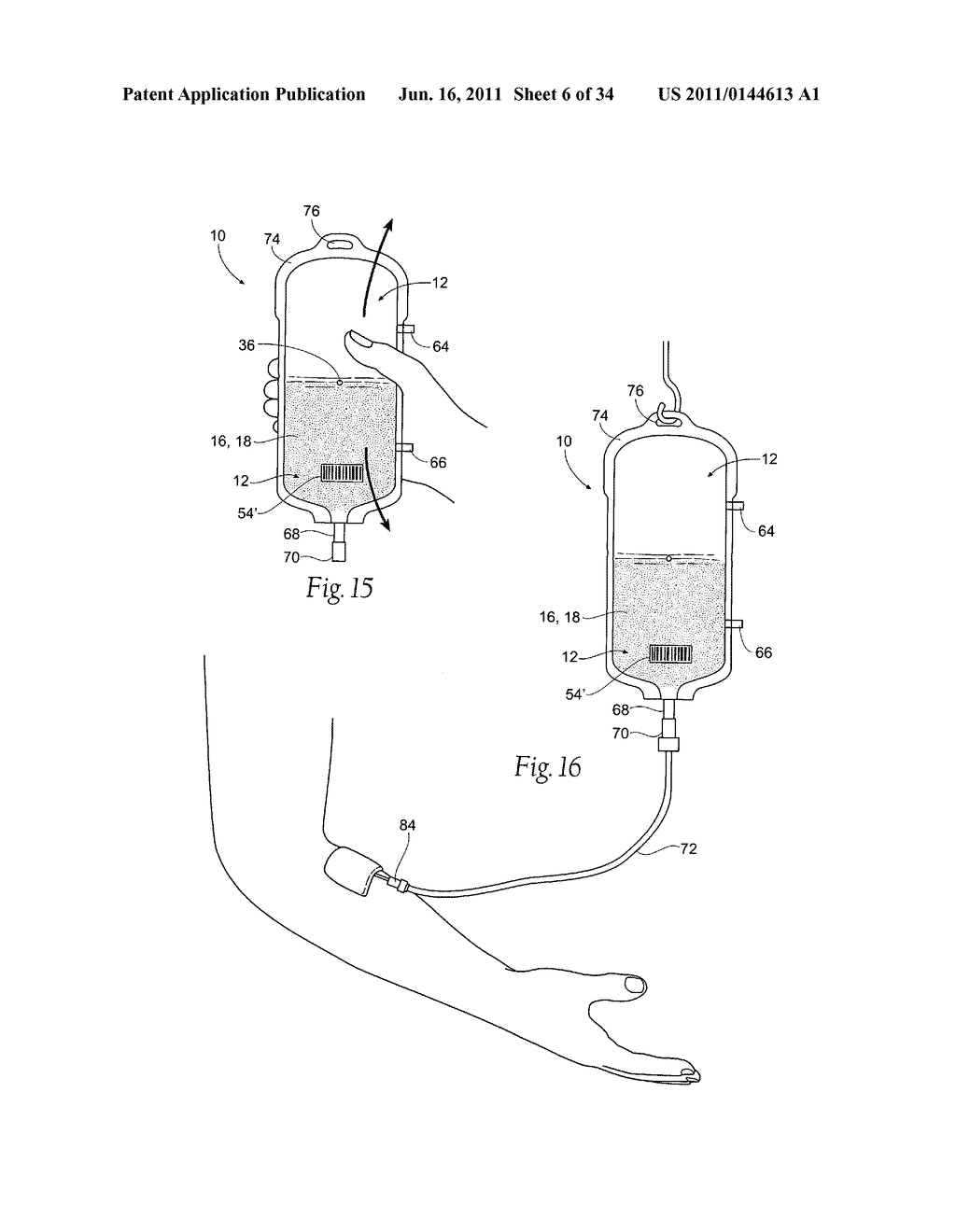 Apparatus and Methods for Making, Storing, and Administering Freeze-Dried     Materials Such as Freeze-Dried Plasma - diagram, schematic, and image 07