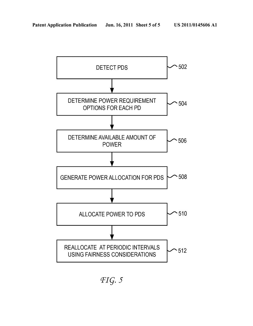 System and Method for Implementing Fairness in the Powering of Computing     Devices in a Power over Ethernet Application - diagram, schematic, and image 06