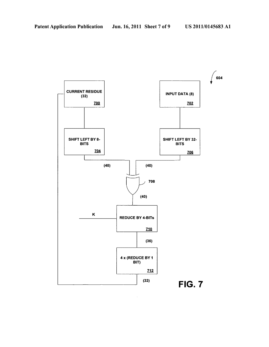 Instruction-set architecture for programmable cyclic redundancy