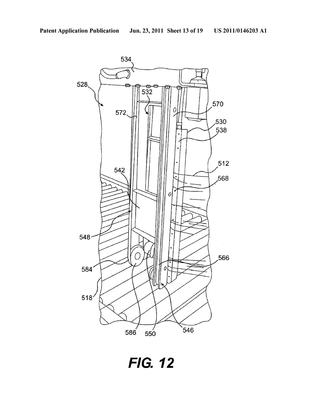WRAPPING APPARATUS AND METHOD INCLUDING METERED PRE-STRETCH FILM DELIVERY     ASSEMBLY - diagram, schematic, and image 14