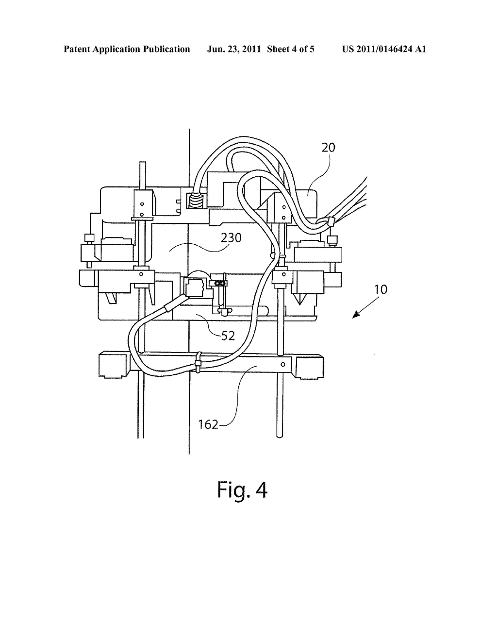 stringer probe with magnetic spring balance - diagram, schematic, and image  05