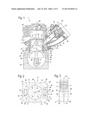 Two-Stroke Engine, Sand Core for Producing a Two-Stroke Engine, and Method     for Operating a Two-Stroke Engine diagram and image