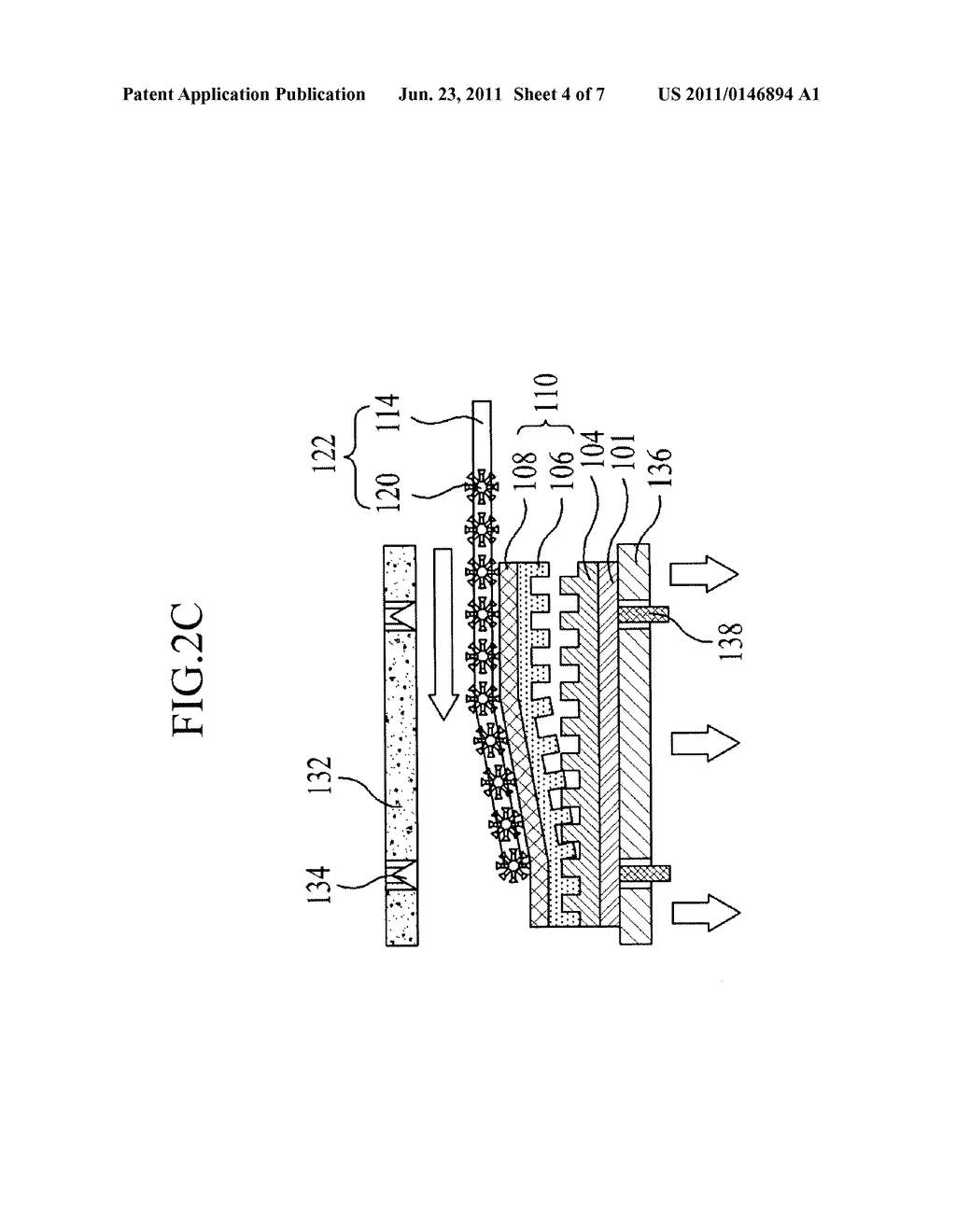 APPARATUS AND METHOD OF FABRICATING FLAT PLATE DISPLAY - diagram, schematic, and image 05