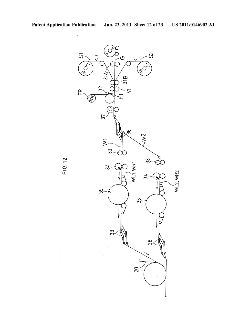 WORN ARTICLE AND METHOD FOR PRODUCING THE SAME - diagram, schematic, and image 13