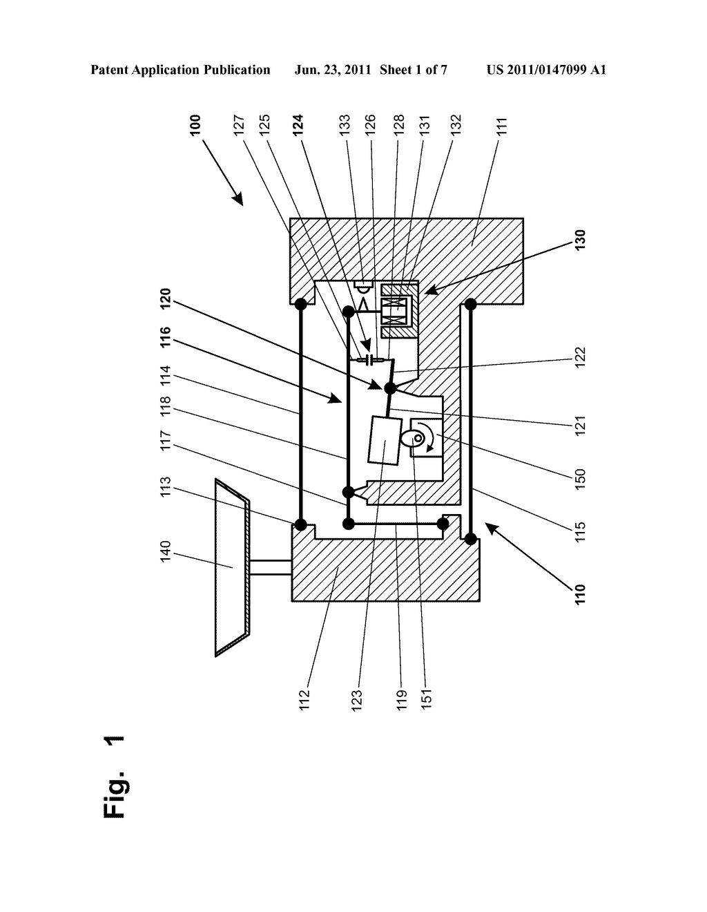 FORCE-TRANSMITTING DEVICE WITH A CALIBRATION WEIGHT THAT CAN BE COUPLED     AND UNCOUPLED - diagram, schematic, and image 02