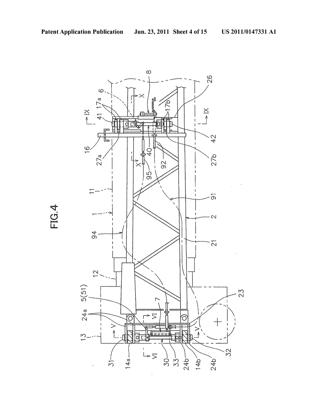 Jib Stowing Device For Jib Crane Vehicle Diagram Schematic And