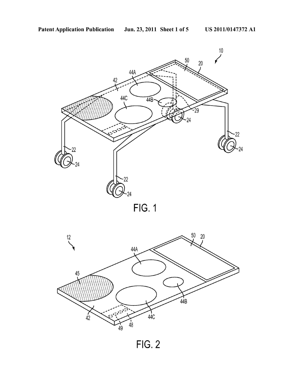 Cooking Table - diagram, schematic, and image 02
