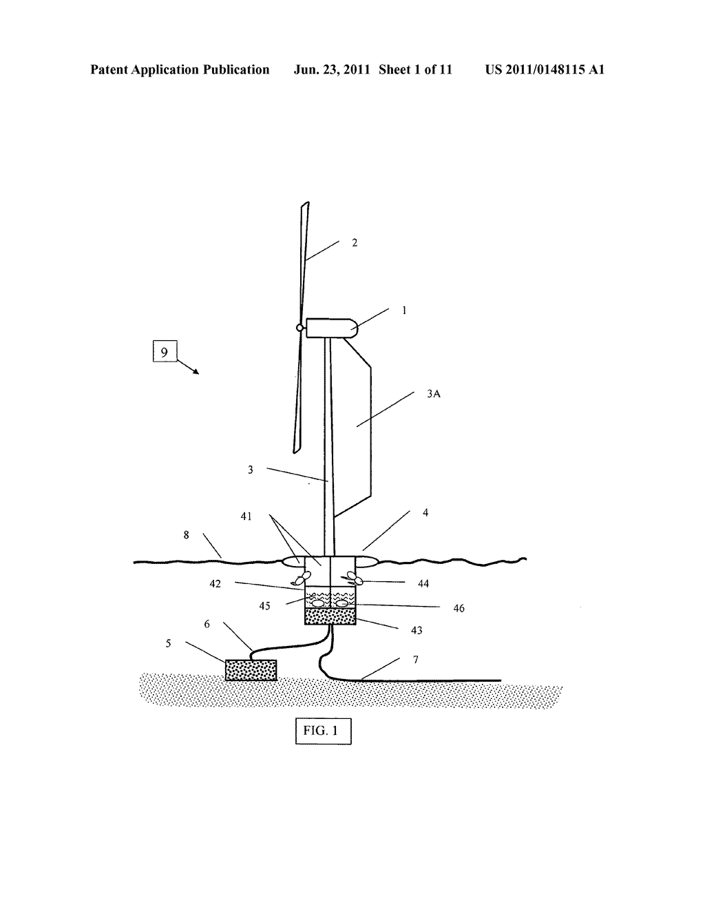 Deep Offshore Floating Wind Turbine And Method Of Schematic Assembly Transportation Installation Operation Diagram