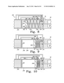 LOAD LIMITING HINGE WITH SPRING LOADED GATE FOR FREESTANDING APPLIANCE diagram and image