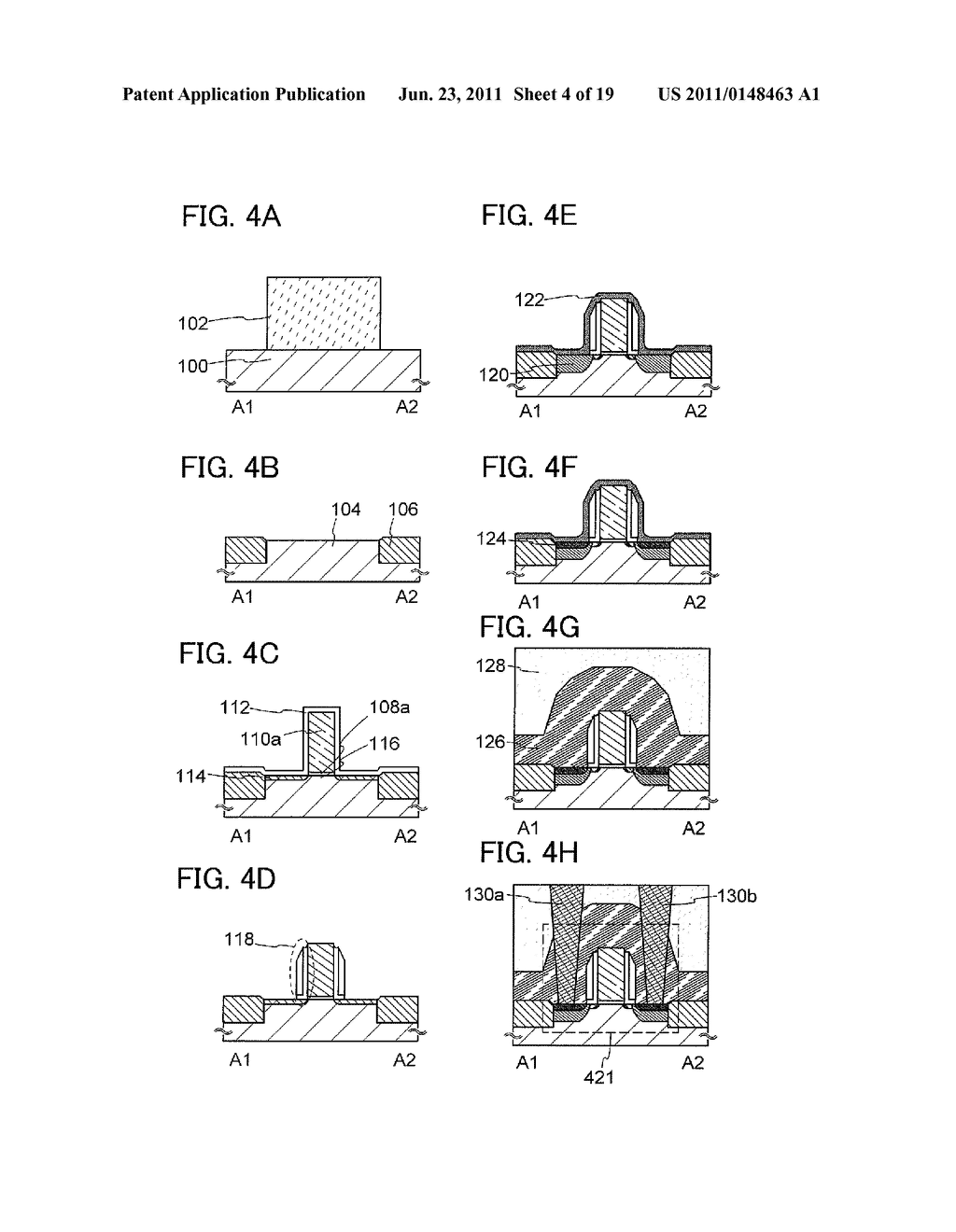 NON-VOLATILE LATCH CIRCUIT AND LOGIC CIRCUIT, AND SEMICONDUCTOR DEVICE     USING THE SAME - diagram, schematic, and image 05