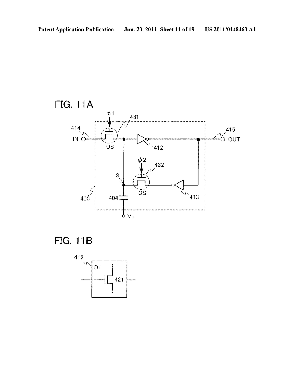 NON-VOLATILE LATCH CIRCUIT AND LOGIC CIRCUIT, AND SEMICONDUCTOR DEVICE     USING THE SAME - diagram, schematic, and image 12