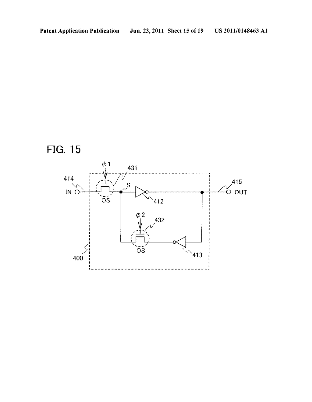 NON-VOLATILE LATCH CIRCUIT AND LOGIC CIRCUIT, AND SEMICONDUCTOR DEVICE     USING THE SAME - diagram, schematic, and image 16