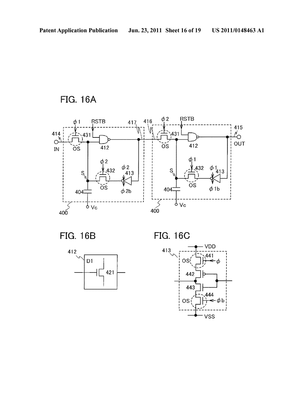 NON-VOLATILE LATCH CIRCUIT AND LOGIC CIRCUIT, AND SEMICONDUCTOR DEVICE     USING THE SAME - diagram, schematic, and image 17
