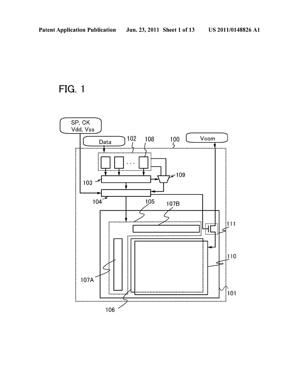 METHOD FOR DRIVING LIQUID CRYSTAL DISPLAY DEVICE - diagram, schematic, and image 02