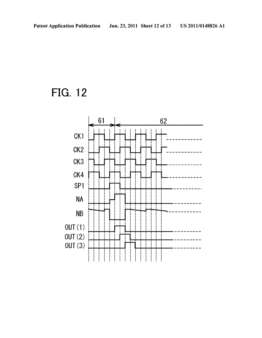 METHOD FOR DRIVING LIQUID CRYSTAL DISPLAY DEVICE - diagram, schematic, and image 13
