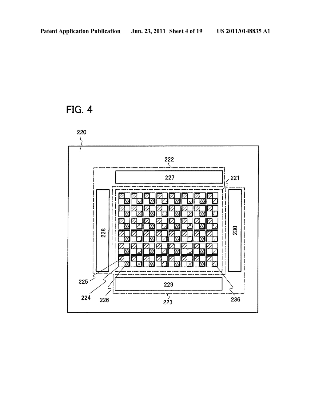 DISPLAY DEVICE INCLUDING OPTICAL SENSOR AND DRIVING METHOD THEREOF - diagram, schematic, and image 05