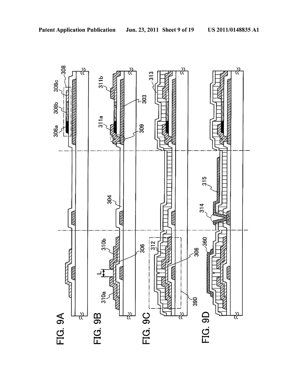 DISPLAY DEVICE INCLUDING OPTICAL SENSOR AND DRIVING METHOD THEREOF - diagram, schematic, and image 10