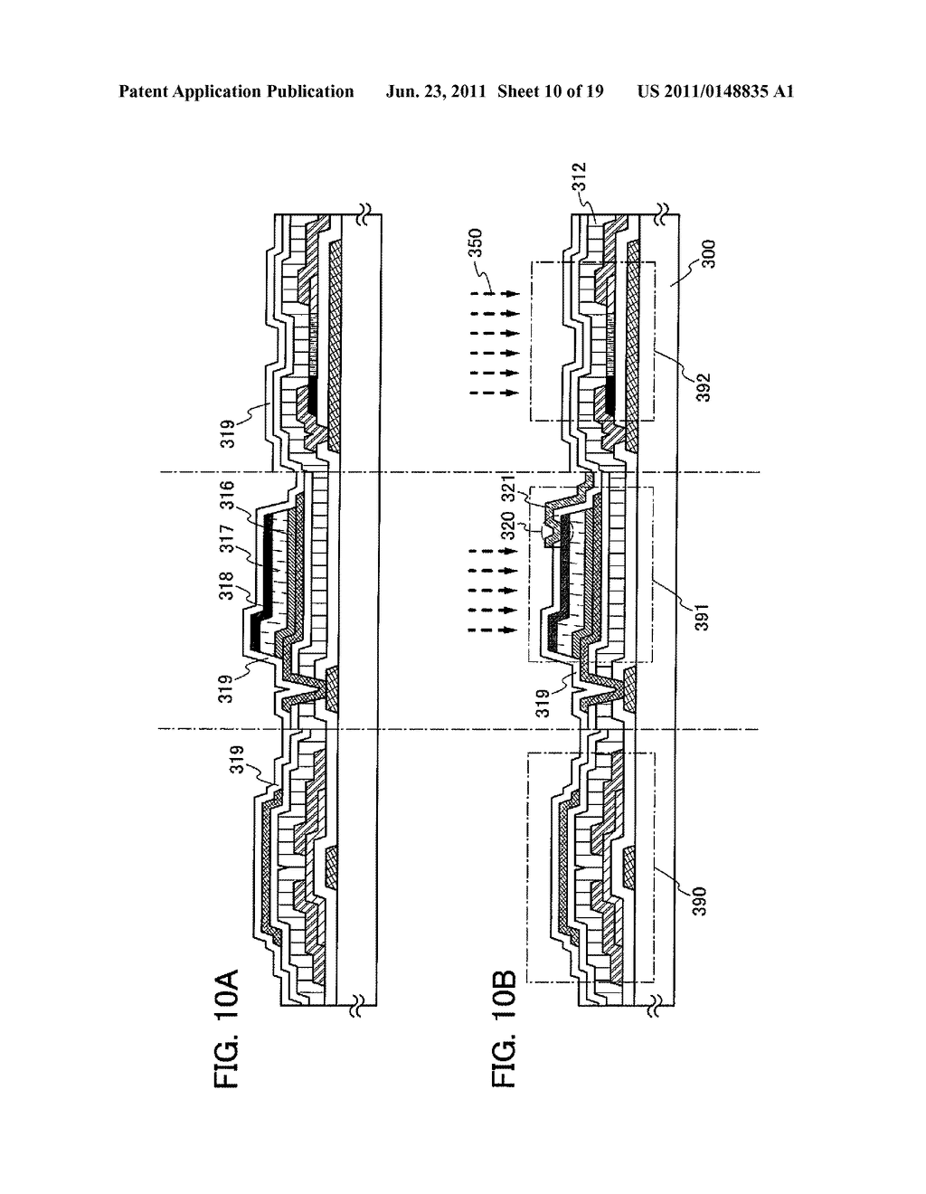 DISPLAY DEVICE INCLUDING OPTICAL SENSOR AND DRIVING METHOD THEREOF - diagram, schematic, and image 11