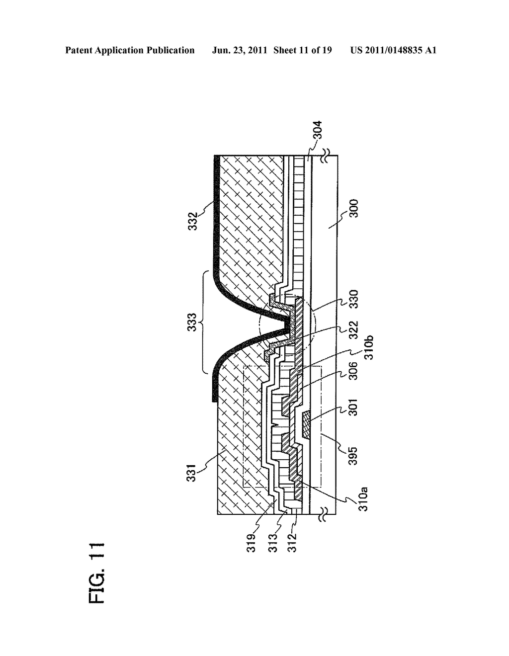 DISPLAY DEVICE INCLUDING OPTICAL SENSOR AND DRIVING METHOD THEREOF - diagram, schematic, and image 12