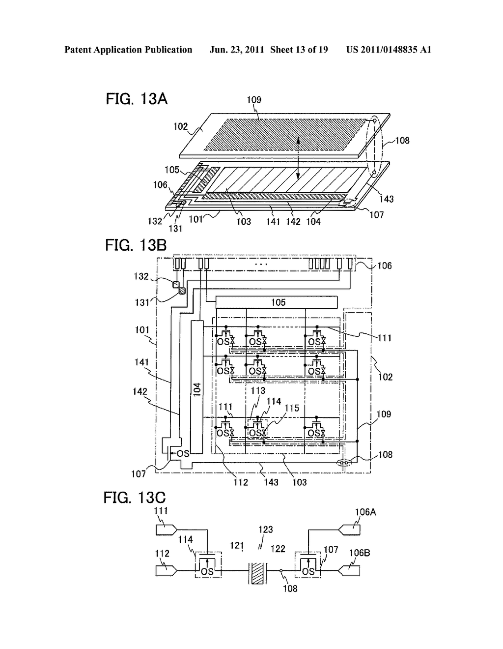 DISPLAY DEVICE INCLUDING OPTICAL SENSOR AND DRIVING METHOD THEREOF - diagram, schematic, and image 14